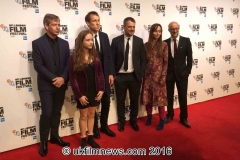 Ben Mendelsohn,Ruby Stokes,Tobias Menzies,Tara Fitzgerald & Writer David Harrower